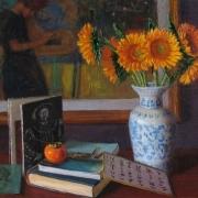 080808-sunflower-klimt-art-books
