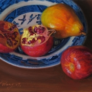 a1266-pomegranate-pear-in-bowl