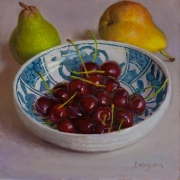 110909-cherries-pears-6x6