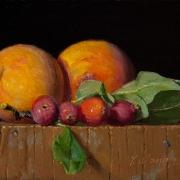 131008-peaches-apple-leaves