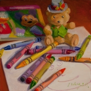 131028-crayons-teddy-bear-book-drawing