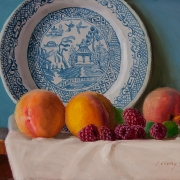 131030-peach-raspberry-blue-willow-plate