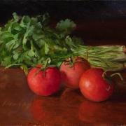 150414-cilantro-tomatoes-still-life-painting