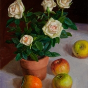 160122-white-rose-still-life-apple-persimmon