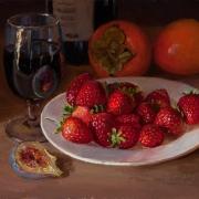 160130-strawberries-red-wine-persimmon