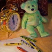 160305-still-life-with-a-teddy-bear-doll-and-a-clock