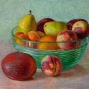 160714-mango-peach-pears-fruit-painting