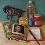 170929-art-material-books-horse-statue