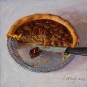 190306-pecan-pie-food-painting-still-life-8x8
