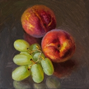 190319-green-grapes-and-two-peaches-6x6