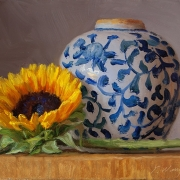 191017-sunflower-ceramic-pot-8x6