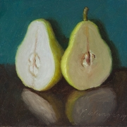 191026-pear-two-halves-6x6