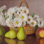 191216-white-daisy-and-pears-14x11