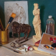 200107-still-life-horse-statue-art-materials-books-18x14-1