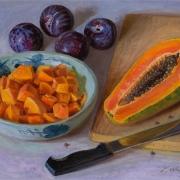 200501-papaya-plums-16x12-2