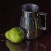 210602-a-pear-and-a-metal-cup-8x8