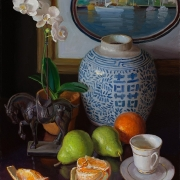 210723-oriental-porcelian-jar-horse-statue-orchard-fruits-teacap-24x18