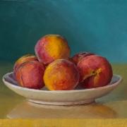210810-peaches-on-a-plate-10x8