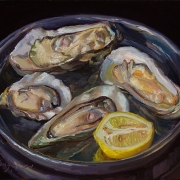 210925-oyster-and-lemon-on-a-metal-plate-10x8
