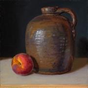 211040-a-ceramic-pot-and-a-peach-8x8